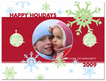 Digital Holiday Photo Cards (Flurry) (CH303)