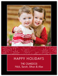 Digital Holiday Photo Cards (Winter Flowers) (CH311)