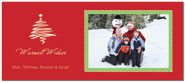 Digital Holiday Photo Cards (Red and Green) (CH321)