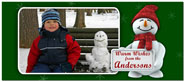 Digital Holiday Photo Cards (Frosty) (CH324)
