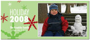 Digital Holiday Photo Cards (Let It Snow) (CH336)