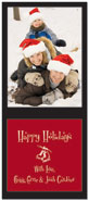 Digital Holiday Photo Cards (Ice Skates) (CH338)