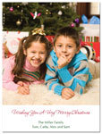 Digital Holiday Photo Cards (Family Photo) (CH340)