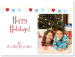 Digital Holiday Photo Cards (String of Lights) (CH341)