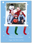 Digital Holiday Photo Cards (Stocking) (CH342)