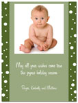 Digital Holiday Photo Cards (Snowball) (CH343)