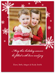 Digital Holiday Photo Cards (First Snow) (CH344)