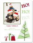 Digital Holiday Photo Cards (Ho Ho Ho) (CH346)