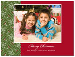 Digital Holiday Photo Cards (Ribbon) (CH350)