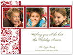 Digital Holiday Photo Cards (Three Photos) (CH356)