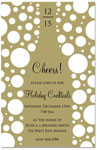 Prints Charming - Holiday Invitations (Cheers! Champagne)