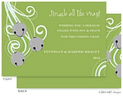 Take Note Designs Digital Holiday Invitations/Greeting Cards - Silver Bells (TND-A-97702)