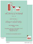 Take Note Designs Digital Holiday Invitations - Festive Drinks (TND-A-97708)