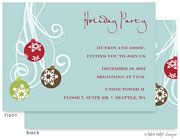 Take Note Designs Digital Holiday Invitations/Greeting Cards - Ornament Swing (TND-A-97715)