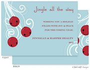 Take Note Designs Digital Holiday Invitations/Greeting Cards - Jingle Bells (TND-A-97719)