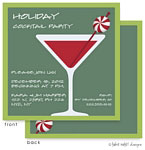 Take Note Designs Digital Holiday Invitations - Peppermint Martini (TND-A2-97403)