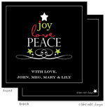 Take Note Designs Digital Holiday Invitations/Greeting Cards - Peace Tree (TND-A2-97415)