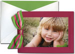 William Arthur Holiday Photo Cards - Debossed Berry (#29-100129)