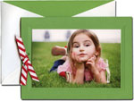 William Arthur Holiday Photo Cards - Debossed Green (#29-100143)