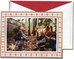 William Arthur Holiday Photo Cards - Fair Isle Border (#29-100255)