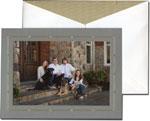 William Arthur Holiday Photo Cards - Gold Bamboo Frame (#29-100269)