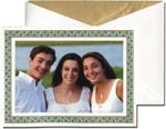 William Arthur Holiday Photo Cards - Sea Glass Border (#29-100276)