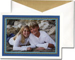 William Arthur Holiday Photo Cards - Two Blues (#29-95474)