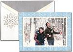 William Arthur Holiday Photo Cards - Snowflakes (#29-98680)