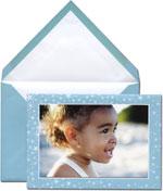 Vera Wang Holiday Photo Cards - Aquamarine Stars (#53-102537)