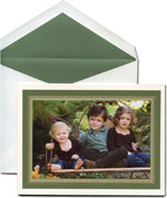 William Arthur Holiday Photo Cards - Woodland & Sage (29-28041) (29-106405)