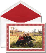 William Arthur Holiday Photo Cards - Holiday Plaid (#29-100234 29-106429)