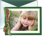 William Arthur Holiday Photo Cards - Season's Stripes (#29-106449)