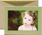 William Arthur Holiday Photo Cards - Green Botanical (#29-106454)