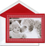 William Arthur Holiday Photo Cards - Engraved Craft Frame (#29-106456)