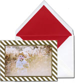 Vera Wang Holiday Photo Cards - Diagonal Stripe (#53-106396)