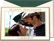 William Arthur Holiday Photo Mount Cards - Happy Holidays 2015 (#29-106633)