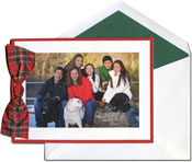 William Arthur Holiday Photo Mount Cards - Scarlet Border (#29-106637)