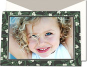 Vera Wang Holiday Photo Cards - Engraved Mistletoe (#53-106503)