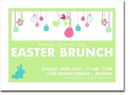 Noteworthy Collections - Digital Holiday Invitations (Easter Egg Fun Green) (ID-400)