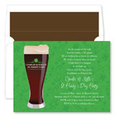 Noteworthy Collections - Holiday Invitations (Irish Stout)