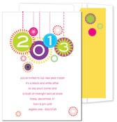 Noteworthy Collections - Holiday Invitations (Happy New Year Bright)