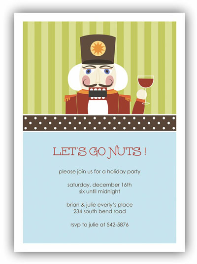 Stacy Claire Boyd - Holiday Invitations (Mr. Nutcracker) (NA71001-10213)