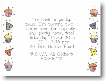 Blue Mug Designs Invitations - Celebrations