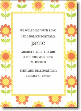 Boatman Geller - Big Yellow Daisy Invitations