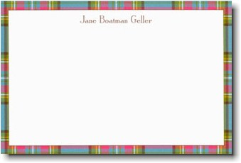 Boatman Geller - Country Plaid Invitations