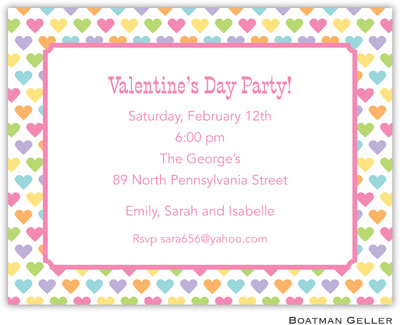 Boatman Geller - Candy Hearts Valentine's Day Invitations