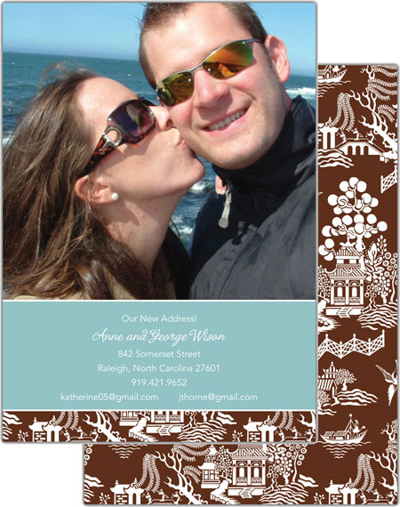 Boatman Geller - Create-Your-Own Photo Cards (Chinoiserie)