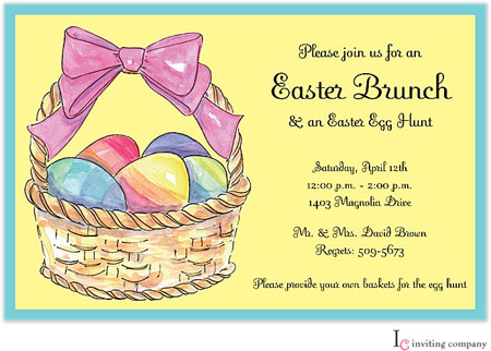 Inviting Co. - Invitations (Sunny Easter) (1-2167P)