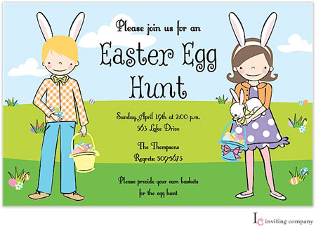 Inviting Co. - Invitations (Easter Kids) (1-2816P)