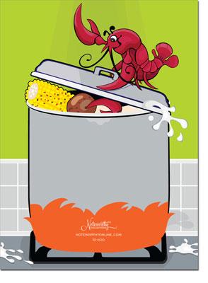 Crawfish Boil Invitation with amazing invitations sample